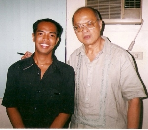 Together with his mentor and idol, E. San Juan, Jr.--arguably the greatest Filipino iconoclast today