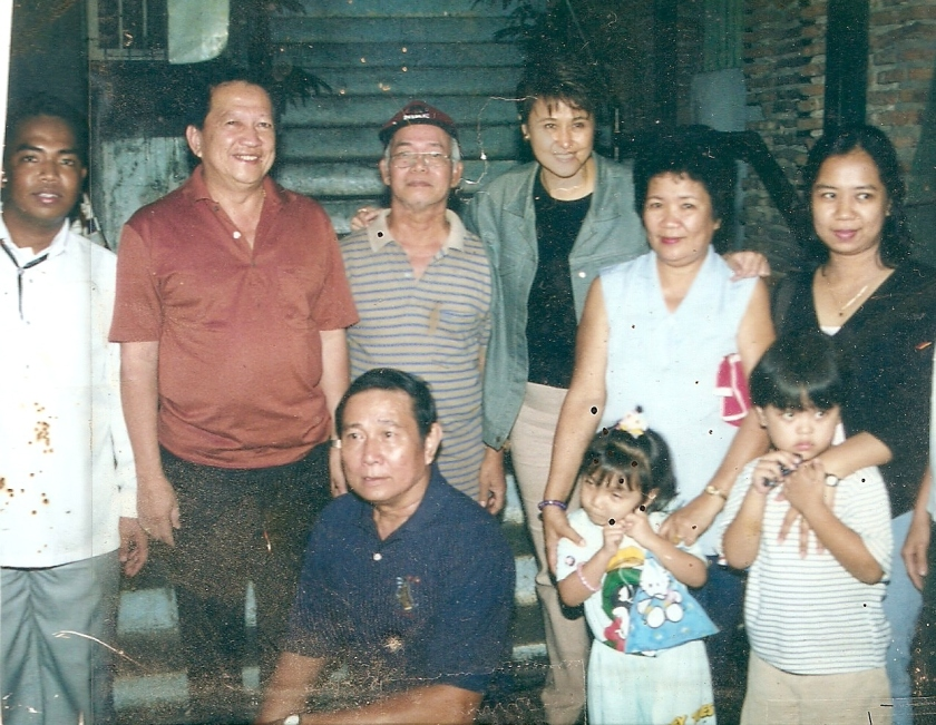 Herdy's family together with Senator Jamby Madrigal, then Laoag City Mayor Roger Farinas, and Vice Mayor Eddie Domingo