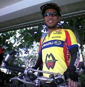 Yumul finds bicycling as spiritual to him