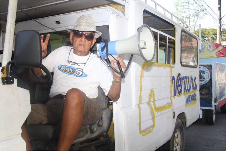 Ventura: One-man campaign team