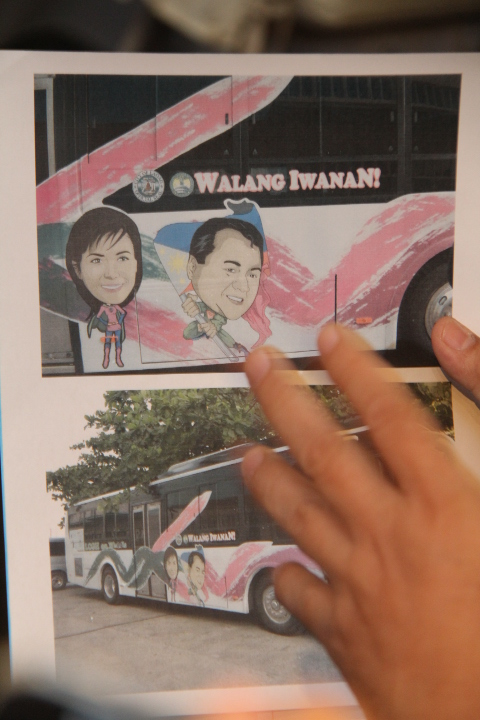 WALANG IWANAN: Why is this mobile clinic being used for the campaign, Roger asks