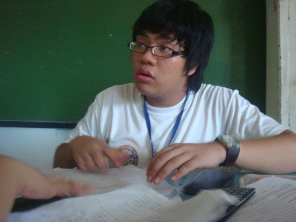 He cut classes to play DoTA.
