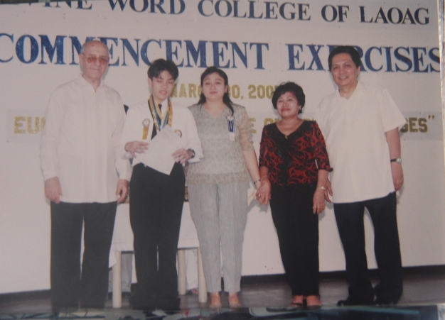 Grade School Graduation: Third Honorable Mention