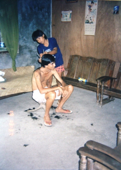 Humble beginnings in the Philippines