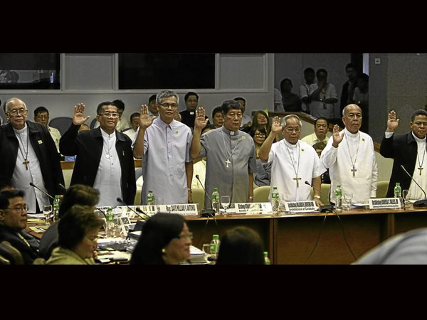 Senate investigation on the bishops who received cars from PCSO