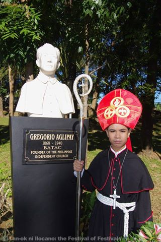 BISHOP GREGORIO AGLIPAY: One of Ilocano greats enshrined at the Heroes Walk
