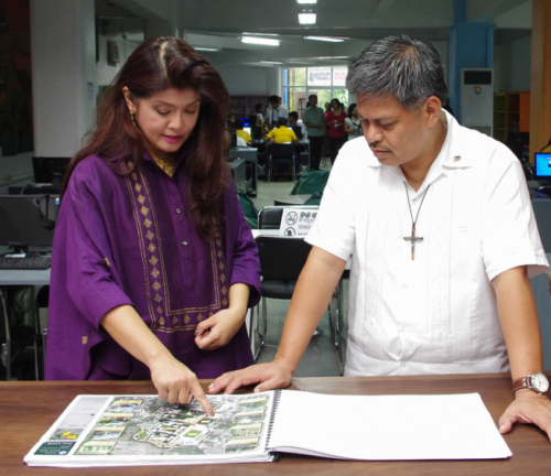 Governor Imee briefs DepEd Secretary Armin Luistro on the edcational initiatives of the province