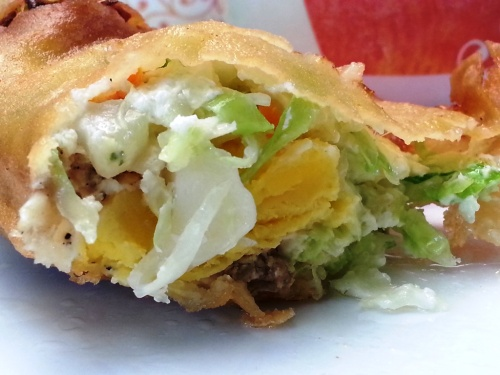 What's inside the Vigan's empanada?