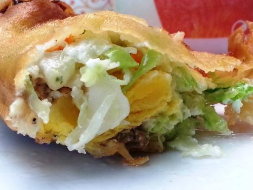 What's inside the Vigan's empanada?
