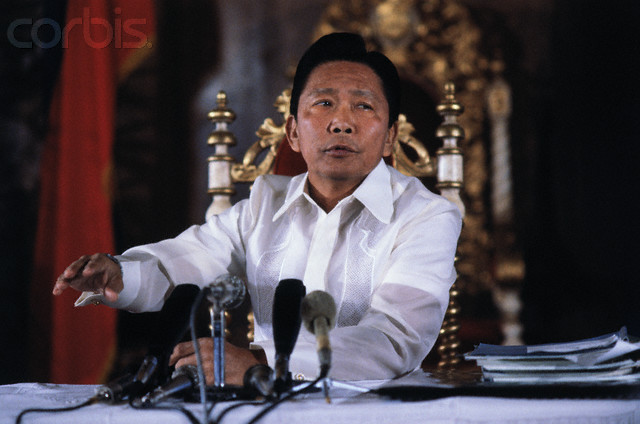 Portrait of Ferdinand Marcos